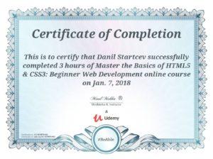 HTML5 & CSS3: Beginner Web Development