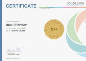 C++ Tutorial course